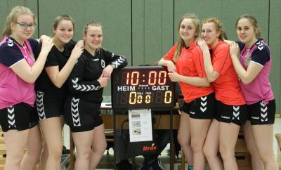 Foto zur Meldung: Handballturnier der 7. und 8. Klassen