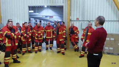 Foto zur Meldung: Feuerwehr bei KOA