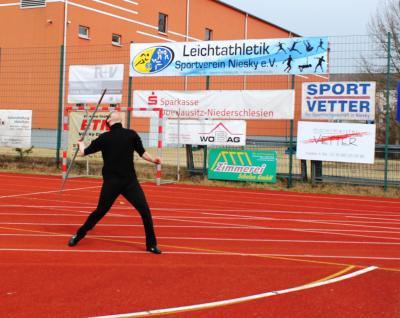 Foto zur Meldung: Traditioneller Werfer-Dreikampf zu Ostern