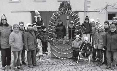 Vorschaubild zur Meldung: Osterbrunnen Kaltensondheim