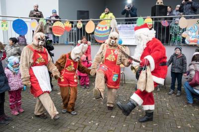 Foto zur Meldung: Dienstältester Osterhase Deutschlands feiert sein 50-jähriges Dienstjubiläum