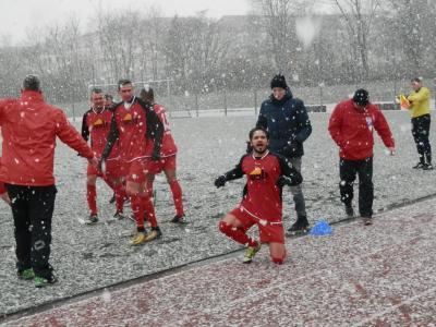 Foto zur Meldung: + + + Fußball Landesliga West 20. Spieltag + + +