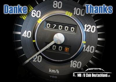 Über 7000 Follower bei Facebook !