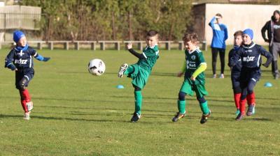 Foto zur Meldung: F-Jugend gewinnt Nachholespiel