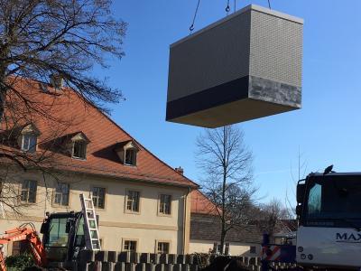 Vorschaubild zur Meldung: Deutsche Glasfaser installiert Hauptverteiler für schnelles Internet in Thallwitz