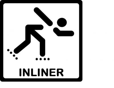 Vorschaubild zur Meldung: Inliner-Bremstraining