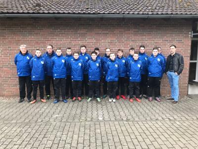 C-Junioren der SG Wesertal