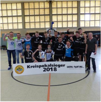 """Vorschaubild zur Meldung: A-Pokalfinale A-, B- und C-Jugend: BTB """"Bandits"""" 3-facher Cup-Gewinner"""