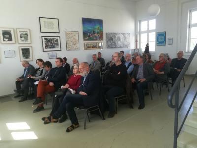 Die Gründungsversammlung im Museumssaal