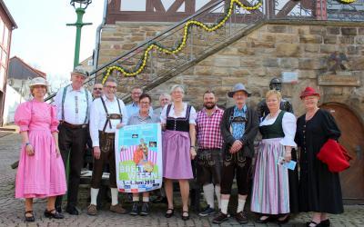 Die Stadt Sontra und Sontras Vereinsvertreter haben Informationen zum Heimatfest von Freitag bis Montag, 1. bis 4. Juni, herausgegeben.