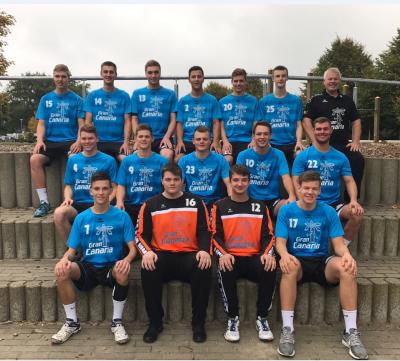 Foto zur Meldung: 29:34 (16:18) Auswärtssieg gegen Büdelsdorfer TSV