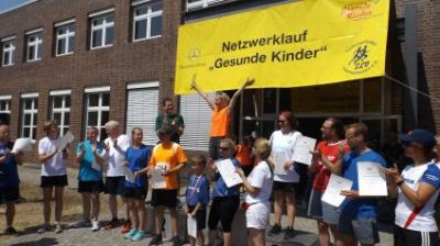 © Netzwerk Gesunde Kinder Teltow-Fläming - Netzwerklauf 2018