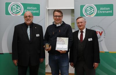 Foto zur Meldung: NFV-Heidekreis - Dankeschön-Wochenende für DFB-Ehrenamtspreisträger