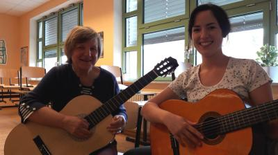 Foto zur Meldung: Mit 60 ans Gymnasium - Instrumentalunterricht an den Außenstellen