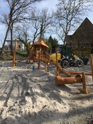 Spielplatz an der Thingstätte in Rußheim