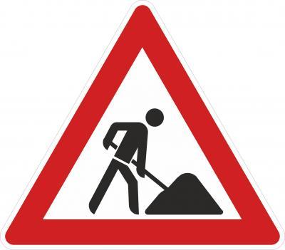 Vorschaubild zur Meldung: Verkehrsraumeinschränkung im Kreisverkehr