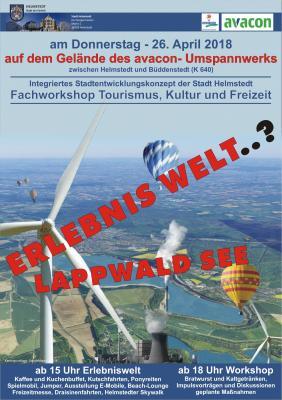 Erlebniswelt Lappwaldsee am 26.04.2018