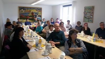 Teilnehmer der Winterschulung Digitales Büro