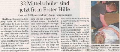 Auszug Der Bayerwald Bote 13.04.2018