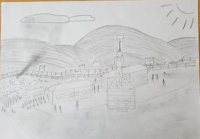 Vorschaubild zur Meldung: Besuch des ehemaligen Konzentrationslagers in Frankreich