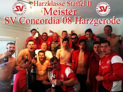 Foto zur Meldung: 2.Herren sind Meister der Harzklasse Staffel II