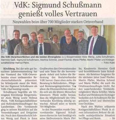Auszug Der Bayerwald Bote 14.04.2018