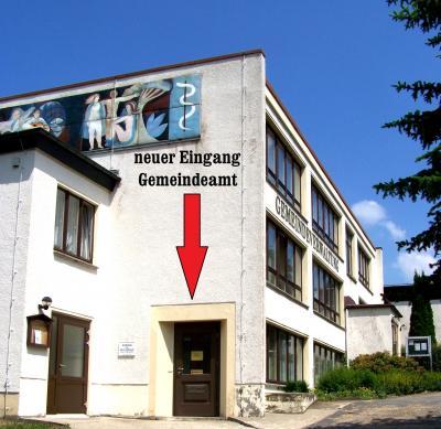 Vorschaubild zur Meldung: Gemeindeamt ist umgezogen