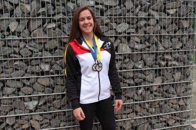 Vorschaubild zur Meldung: Marie Henrich aus Kröffelbach holte 3 Medaillen