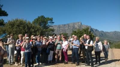 Foto zur Meldung: Südafrika - Signal Hill - LandFrauen unterwegs
