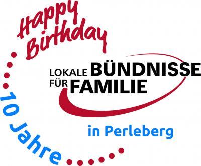 Logo 10 Jahre Bündnis für Familie