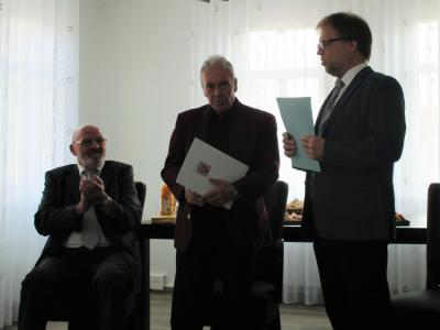 stellv. Direktor d. Amtsgerichtes Büdingen ehrt den Jubilar