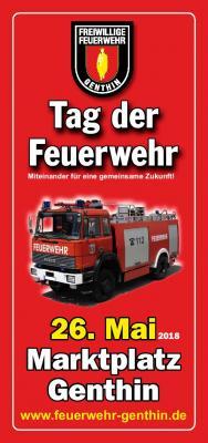 Foto zu Meldung: Tag der Feuerwehr am 26. Mai 2018 in Genthin