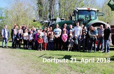 Foto zu Meldung: Dorf geputzt – Ein Spaziergang unter Holsteins Sonne