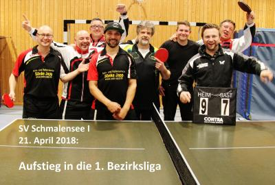 Foto zur Meldung: Raus aus Liga 2 – Erste Mannschaft des SVS steigt in 1. Bezirksliga auf
