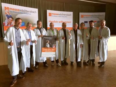 Der Aufsichtsrat der Messe Wächtersbach im Udo-Jürgens-Fieber