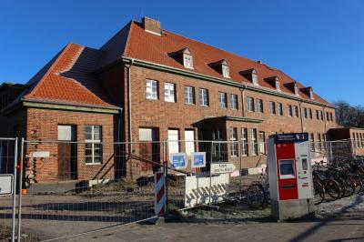 Baustelle Bahnhof Wittstock/Dosse (Foto: Stadt Wittstock/Dosse)
