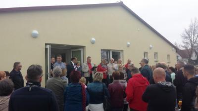 """Foto zur Meldung: PROJEKTE: Was lange währt wird gut - """"Dorfkonsum"""" in Lichtenow endlich öffentlich übergeben"""