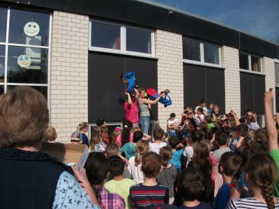 Foto zur Meldung: An unserer Schule bewegt sich was