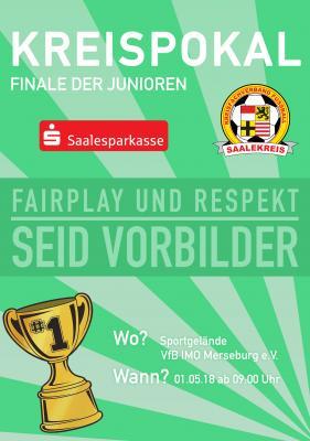 Foto zur Meldung: Kreispokalfinalspiele der Junioren am 01.05.18 in Merseburg