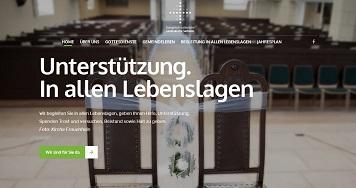 Foto zur Meldung: Neue Kirchen-Homepage online