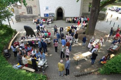 Vorschaubild zur Meldung: Ökumenischer Gottesdienst am Pfingstmontag (21. Mai) in St. Sixti