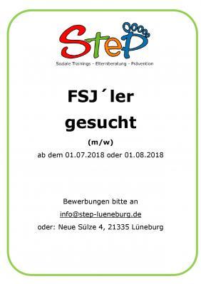 Vorschaubild zur Meldung: FSJ`ler (w/m) gesucht