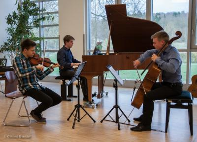 Foto zur Meldung: Kleines Lied und große Kunst fesselten Zuhörer