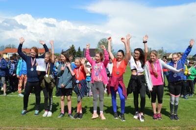 Foto zur Meldung: Kreisfinale Jugend trainiert Leichtathletik WK IV
