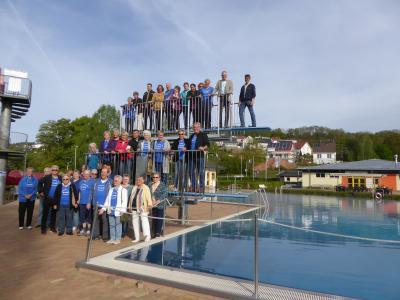 Vorschaubild zur Meldung: Öffnung des Familienbades Wächtersbach am 28. April
