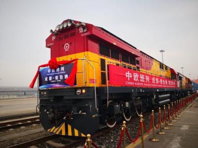 Erster Direktzug aus China in Wien eingetroffen