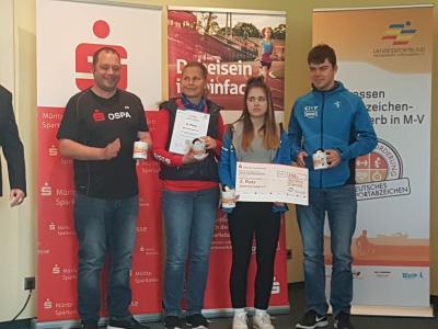 Foto zur Meldung: Sportabzeichen Wettbewerb 2017 hat seine Gewinner