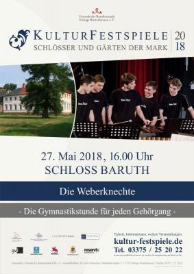 Foto zu Meldung: Kulturfestspiele, Schlösser und Gärten der Mark 2018