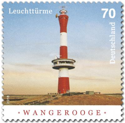 Sonderbriefmarke Wangerooge