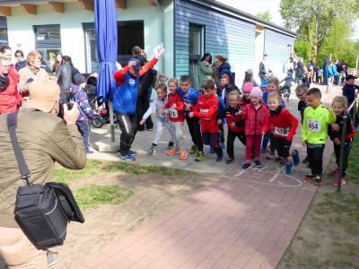 Foto zur Meldung: KITA-Lauf setzt ganz neue Maßstäbe